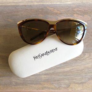 YSL Tortoise Shell Sunglasses
